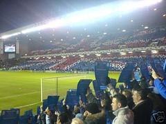 Ibrox Stadium, Glasgow. Rangers v Inter Milan (tcbuzz) Tags: milan cards scotland football stadium rangers ibrox inter