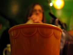 a cup of julie (shawnwall) Tags: tag3 taggedout tag2 pittsburgh tag1 meetup beehive