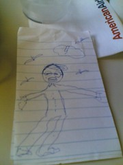 A toddler's drawing of me