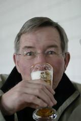 IMG_8931 (cgommel) Tags: portrait beer glass bill tour drinking brewery bier glas brauerei radeberger bierglas guidedtour martz besichtigung billmartz exportbier brauereibesichtigung