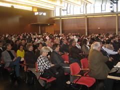 Publikum bei der Podiumsdiskussion in Eislingen, 2006