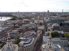 View from the Top of St. Pauls towards West End (j.t.cph) Tags: london