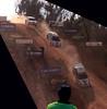 Mineshaft Jump (jæms) Tags: road topf25 car race photoshop jump track crash accident rally australia explore dirt canberra mineshaft lancer mitsubishi act evo