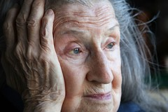 daydreaming (torontofotobug) Tags: old portrait woman beauty canon dorothy grey womenonly elderly age elder thinking daydream thoughful canon30d learningcurve canoneos30d