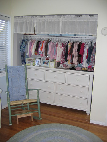Show me the inside of your baby's closet!