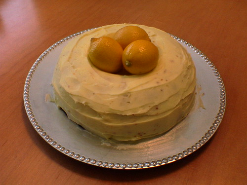 Lemon Birthday Cake