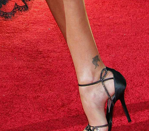 Ankle Tattoos Designs for Girls