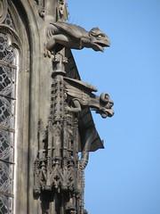 Gargoyles (splitbrain) Tags: prague prag praha gargoyles