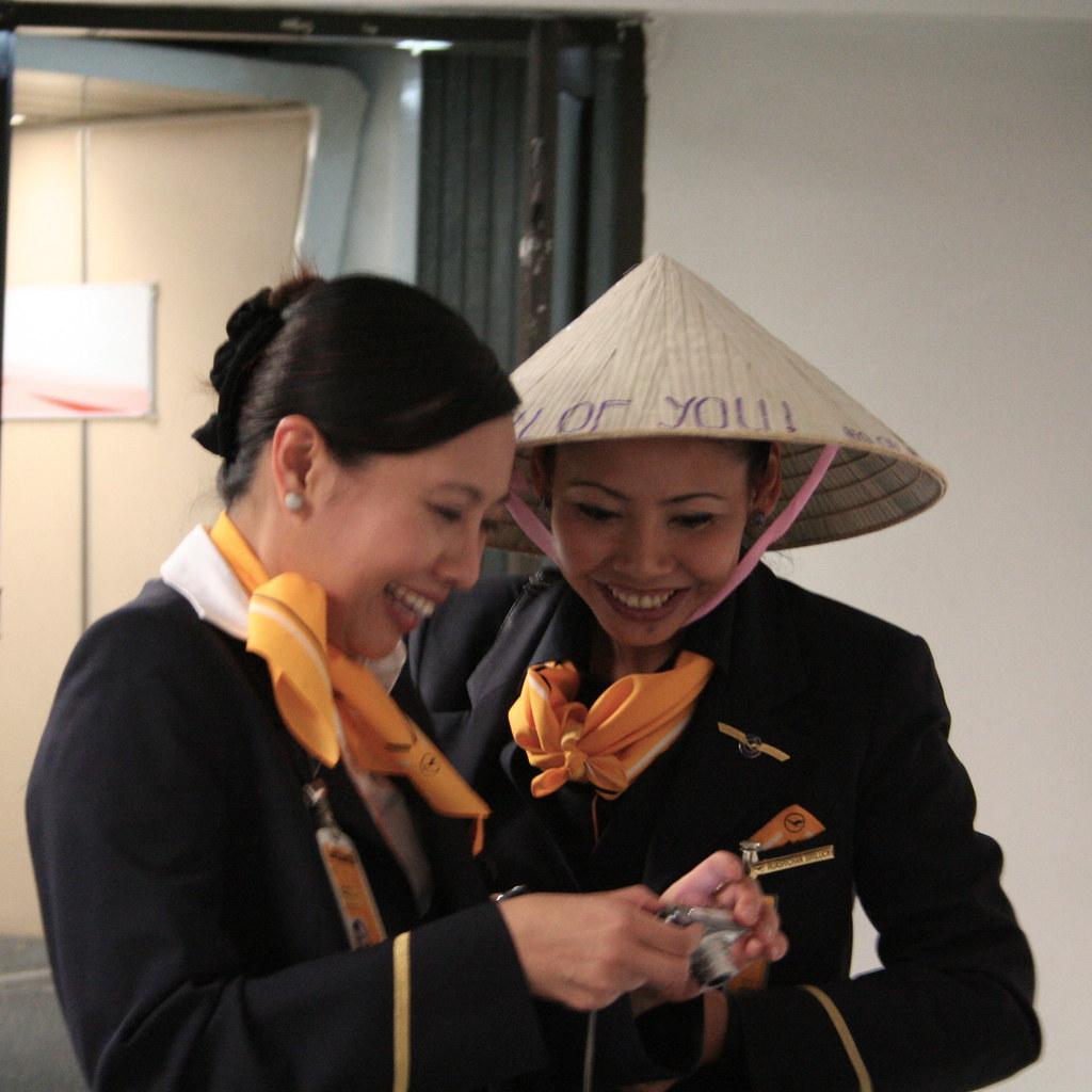 Charming Flight Attendants