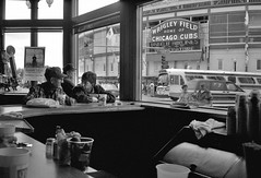 Wrigley Field, Chicago 1994 (Dave Glass . foto) Tags: chicago baseball cubs wrigleyfield wrigley 1060waddison cubbbybear