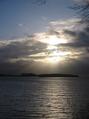 Winter sunset over Donegal Bay