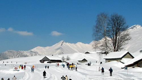 Esquí en los Alpes franceses
