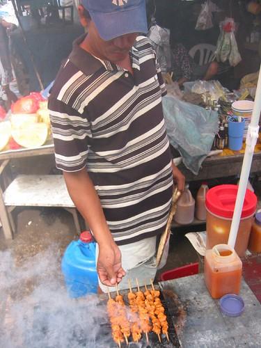 barbecue stall, Bongao, Tawi-Tawi