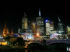 IMG_8581 (young_einstein) Tags: melbourne australia city night lights buildings skyscraper