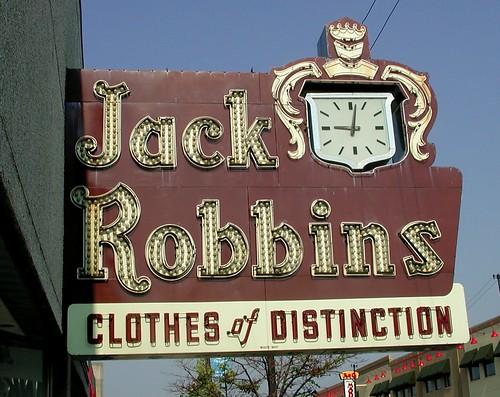 Jack Robbins Neon Sign [removed due to fire]
