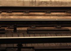 Subway Tracks (Tonym1) Tags: tracks railroad photoshop nikon5700