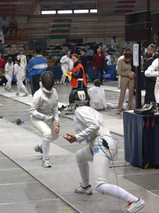 fencing by mikescia, on Flickr
