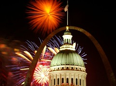 St. Louis 4th  of July Fireworks
