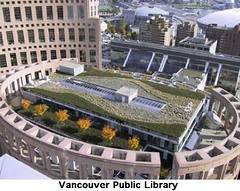 vancouver_library (norte | sur) Tags: green buildings greenroof
