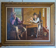 Billy the Kid in Custody (Serendigity) Tags: lincoln wildwest art museum usa painting unitedstates historic town newmexico