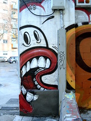 Graffiti in Barcelona (stid) Tags: barcellona spagna barcelona arte graffiti art