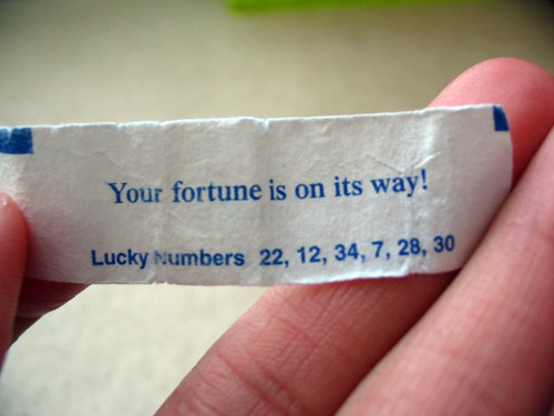 Fortune Cookie by OH joy14, on Flickr