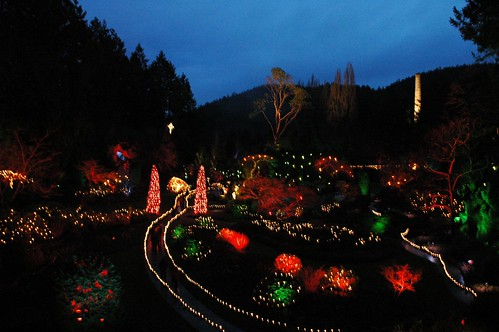 Butchart Gardens - I wish I had a taken my tripod!