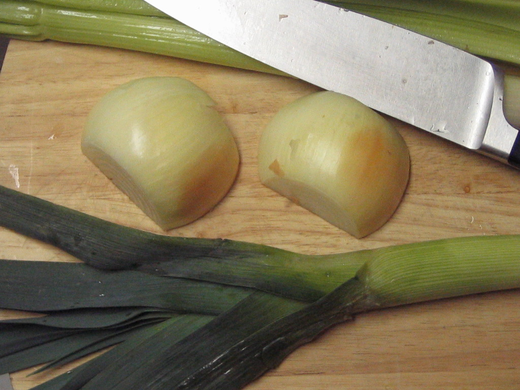 onions and leeks