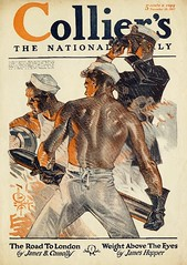J.C. Leyendecker 1917 - Sailors (Mamluke) Tags: old male london illustration vintage back artist alt muscular military wwi sailors dos londres jc artillery mann viejo colliers oud hombre militaire hommes cru illustratie vieux homme 1917 vecchio ilustracin leyendecker vendimia weinlese rckseite illustrazione  annata abbildung mamluke jcleyendecker wijnoogst november101917 jameshopper jamesbconnolly theroadtolondon weightabovetheeyes