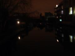 Marina at night (Igor Clark) Tags: london home de canal walk hackney islington regent dalston regents beauvoir