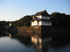 Waterfront of YEDO (eesti) Tags: reflection castle water japan wow reflections tokyo waterfront palace imperial  moat tranquil edo kokyo koukyo chiyoda  yedo kkyo
