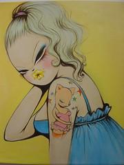 missVan01 (BIGAWK) Tags: show street art painting paint gallery van miss levine