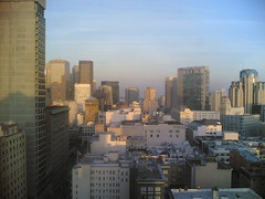 Morning view from my room at Clift, SF (FedericoF) Tags: shozu mobile nokia6630
