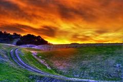 Sunset soon forgotten (ojaipatrick) Tags: california light sunset sky color nature topf25 topv111 topv2222 clouds photoshop canon landscape ilovenature fire dawn topf50 topv555 topv333 topf75 bravo iron wine topv1111 topc50 topc75 topv999 surreal topc100 topv5555 topv777 ojai topf100 hdr topv8888 topc150 photomatix topc200 80points topphotoblog hdart hdrsurreal