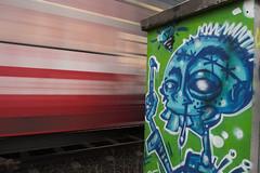 Graffiti in Passing - by n0ll