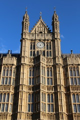 The Houses of Parliament (richardr) Tags: old city uk greatbritain england urban building london english heritage history clock westminster architecture geotagged europe european unitedkingdom britain gothic 19thcentury victorian housesofparliament parliament historic barry british europeanunion victorianarchitecture clockface nineteenthcentury palaceofwestminster gothicarchitecture gothicrevival charlesbarry historicalplaces pugin lordsentrance sircharlesbarry augustuspugin geo:lat=51498618 geo:lon=0125265