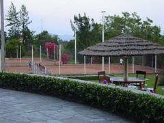 Tennis In the Congo (amalthya) Tags: africa goma tennis congo courts drc tenniscourt karibu hotelkaribu
