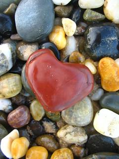valentine pebble