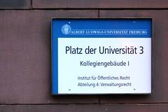 """""""Platz der Universität"""""""