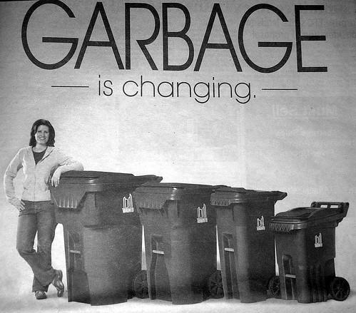 Garbage Bin Ad