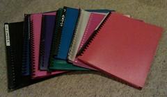 Plastic sleeve folders (smperris) Tags: freecycle