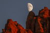 Moon Rise Over The Watchman (Jeffrey Sullivan) Tags: moon rise red rock sandstone zion national park springdale southern utah usa american southwest landscape nature photography canon eos 6d photo copyright jeff sullivan 2016 november thewatchman mountain twilight astrophotography