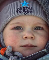 First Time on the cold (Danny VB) Tags: christmas baby gaspésie québec canada noel bébé closeup boy garçon enfant winter neige cold snow hiver canon 7d ef85mmf18usm 85mm18 december