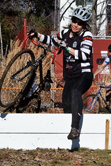 First CX Race and lone women in the SS race. Nicely played!