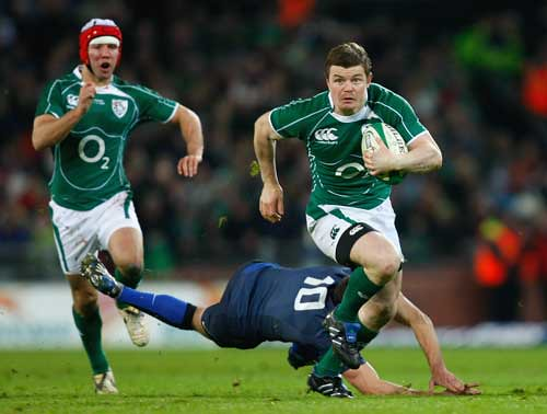 O'Driscoll sfugge a Beauxis