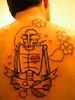 ian's tattoo ....5 hours later.
