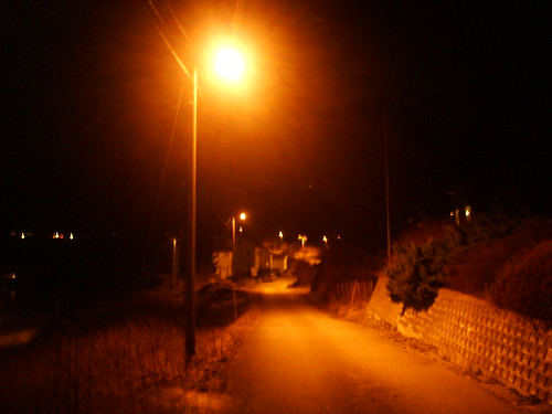 my town by night