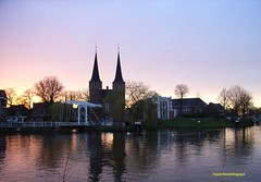Delft During Sunset