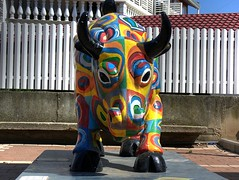 The colored buffalo 1, Osfiya (vad_levin) Tags: sculpture color art carmel hdri druz osfiya