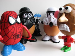 Mr. Potato Head and Friends - by Ian Muttoo